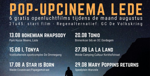Affiche Popup-cinema Lede 2020